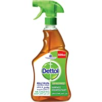 Dettol Original Antibacterial Surface Disinfectant, Trigger Spray Bottle, 500ml