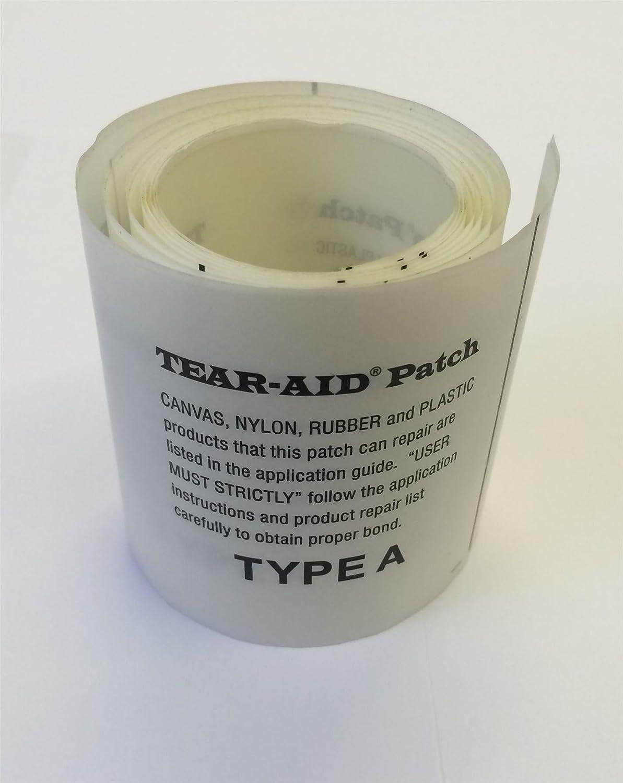 Tear-Aid Parche de reparación Autoadhesivo para toldo de Tienda de ...