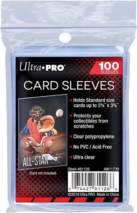100 Toploaders Pokemon MTG Protectors Bundle Ultra Pro Soft Card Sleeves 25