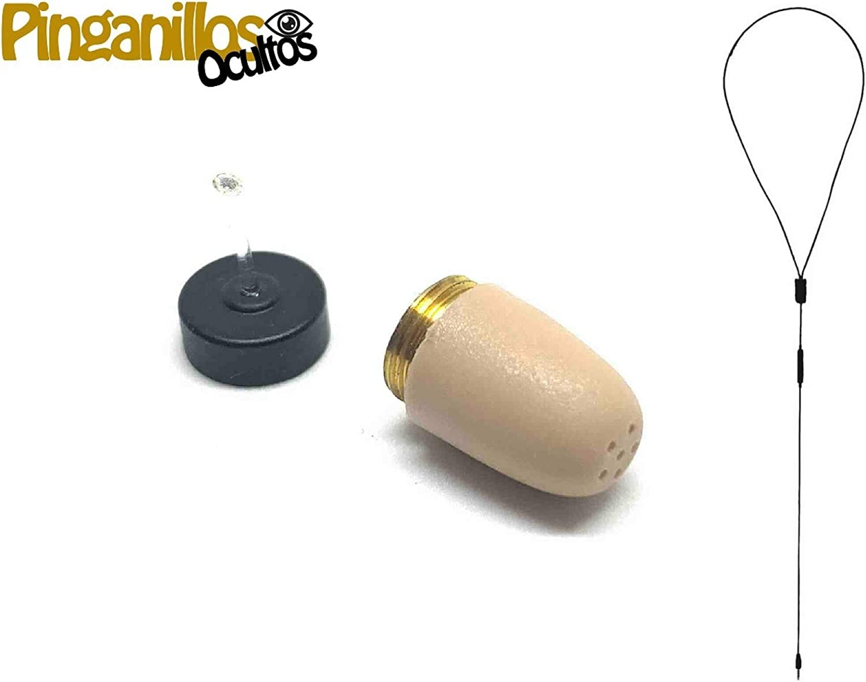 Auricular Invisible VIP Pro Supermini Plus de Pinganillos Ocultos (Kit Completo)