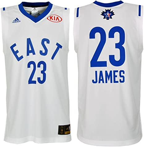 adidas Lebron James All Star Game 2016 East – Maillot para hombre, blanco: Amazon.es: Deportes y aire libre