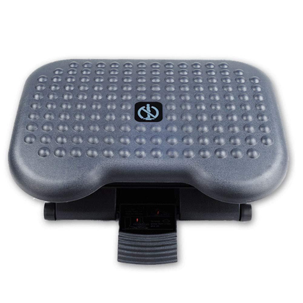 Fußauflage fußstütze Fußstütze - verstellbare Fußstütze Ergonomisch unter der Schreibtisch-Fußstütze