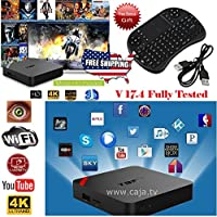 T95N Mini M8S Pro S905X Quad Core Android 6.0 Smart TV Box KODI 2G + 8G with Wireless Keyboard