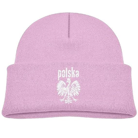 Polonia Polska Eagle Unisex Kids Beanie Gorras Rosa -: Amazon.es ...