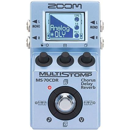 Zoom MS70CDR/SP - Pedal multiefectos