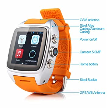 Activity Tracker Reloj Smart Watch Android reloj Fitness ...