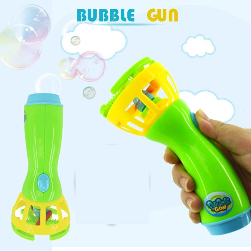Jeeke Bubble Machine,Summer Kids Toys Mini Fan Bubble Blower for Kids Outdoor Toys