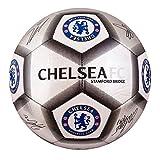 Chelsea F.c. Football Signature Silver (sv) Size 5
