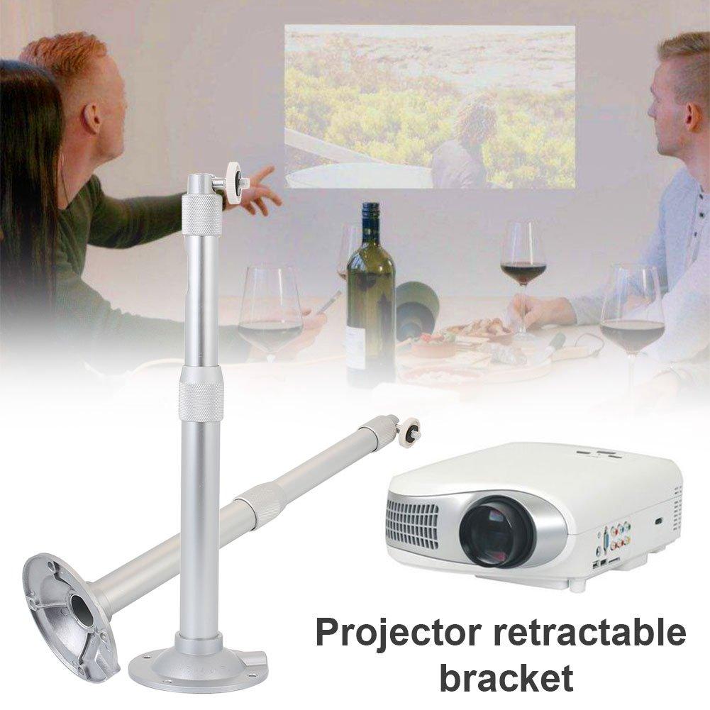 Mini proyector, Soporte Universal Oculto Plateado cámara Digital ...