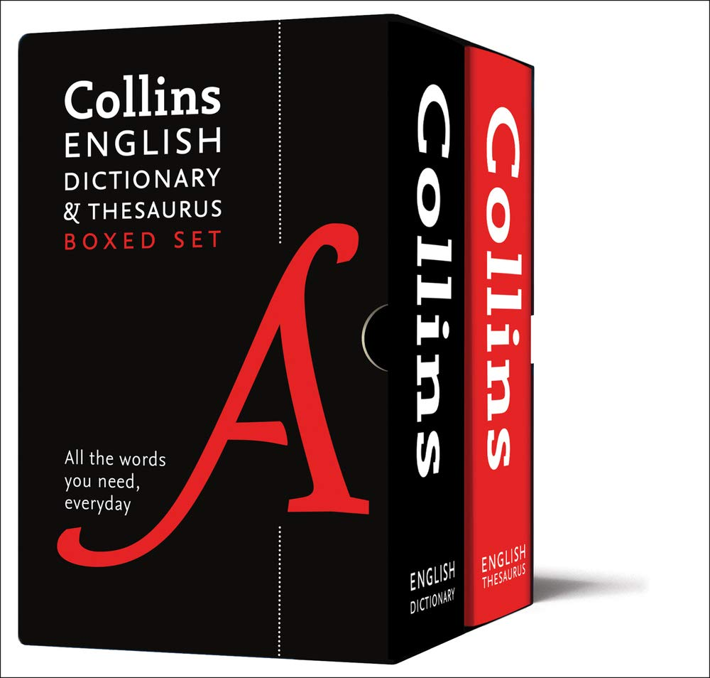 Collins English Dictionary And Thesaurus Boxed Set  All The Words You Need Every Day  Collins Dictionaries