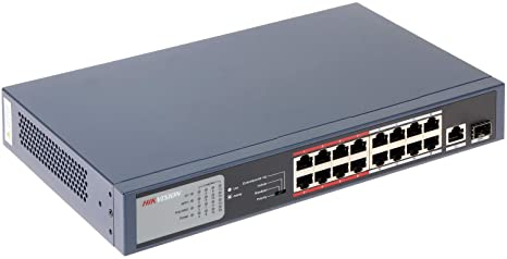 Image result for 16 Port PoE Switch DS-3E0318P-E/M