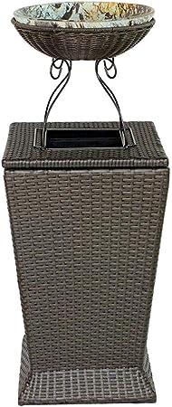 Cubos de Basura para Exterior Bote de basura al aire libre Bote de basura Jardín al