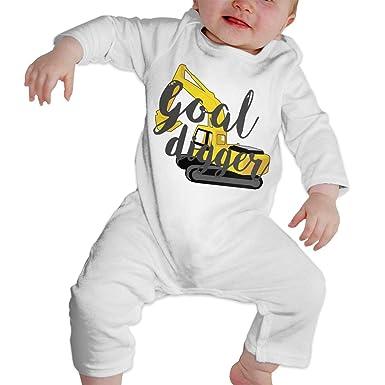 294dd870b11b Amazon.com  HFGFD9G Newborn Kids Romper Digger Excavator Clipart ...