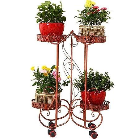 Soporte de la planta, estantes del patio del jardín de las hierbas ...