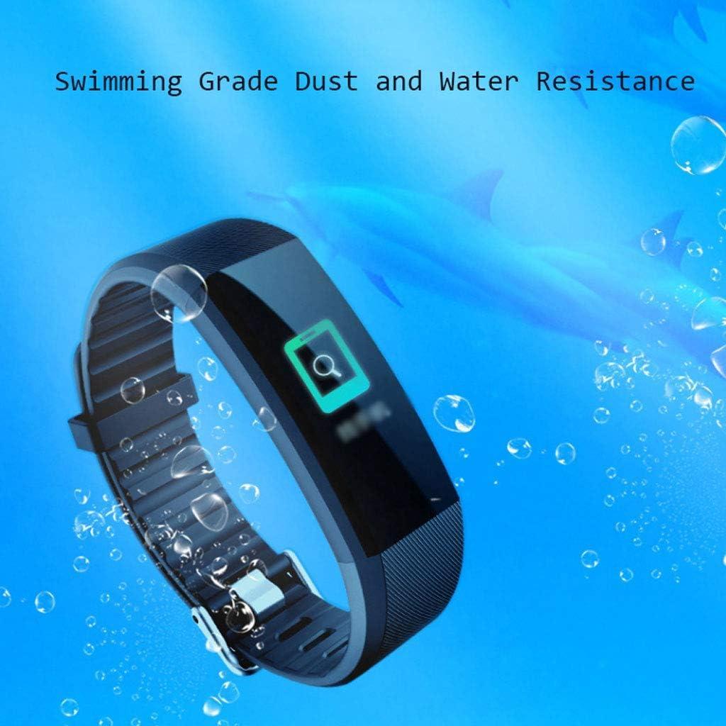 Smartwatch multifunzione Smart Sport da polso impermeabile con schermo a colori di moda (rosso) C