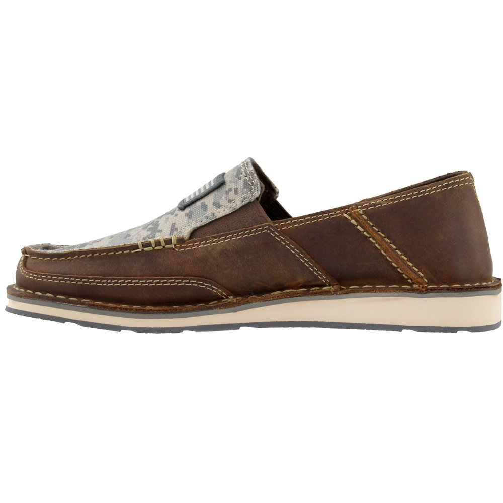 Ariat Men's Cruiser Slip-on Shoe Brown B079VRM8N3 9.5 D(M) US|Distressed Brown Shoe 3429f7