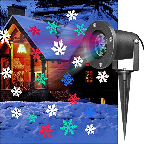 Outdoor Led Projector Christmas Lights - 5
