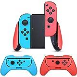 任天堂スイッチ ジョイコン グリップ(3個セット)【HEYSTOP】 Nintendo switch Joy-Conコントローラー ハンドル switch Joy Con ハンドル SL/SRボタン付き 装着簡単 手触り良い 遅延なし 操作しやすい マリオカート
