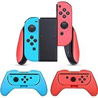 HEYSTOP Nintendo Switch Joy-Con Grip, [3 stuks] comfort gamepad controller beschermhoes greepkits voor Nintendo Switch…
