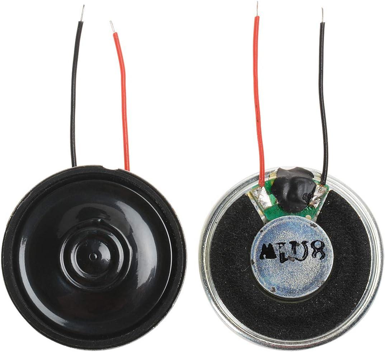4 Pcs 1W 8 Ohm 28mm Internal Magnetic Electric Toy Audio Speaker Amplifier