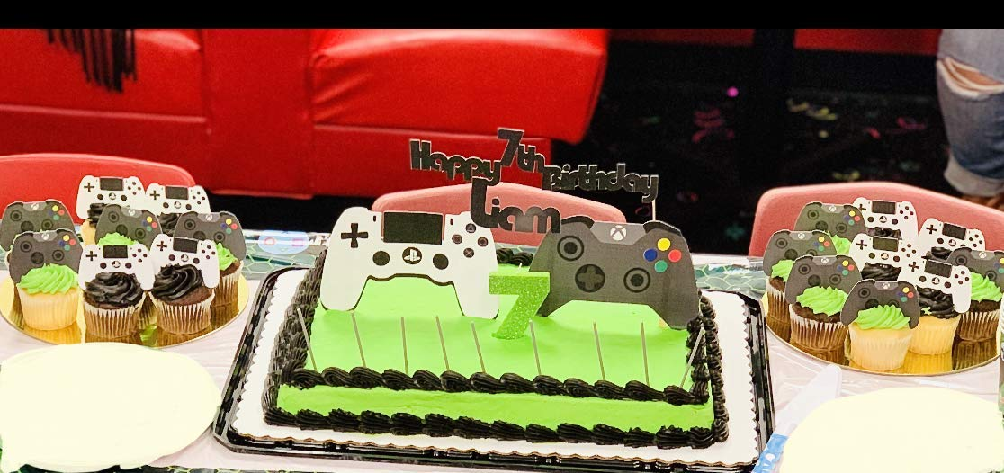 Video game topper Video game controller cake topper Gamer Cake Topper