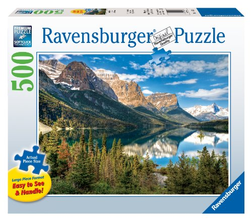 Beautiful Vista - 500 Pieces Large Format Puzzle