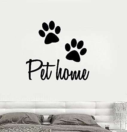 68981ef75 Image Unavailable. Image not available for. Color  Profit Decal Vinyl Wall  Decals Home Decor - Pet Animal Dog Cat ...