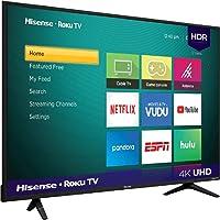 Bazinga TV Hisense 58 Pulgadas Smart TV 4K Ultra HD Roku 58R6000GM Hisense 58R6000GM UHD 4K LED