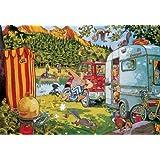 Jumbo Wasgij - Bear Necessities - 1000 Piece Jigsaw Puzzle
