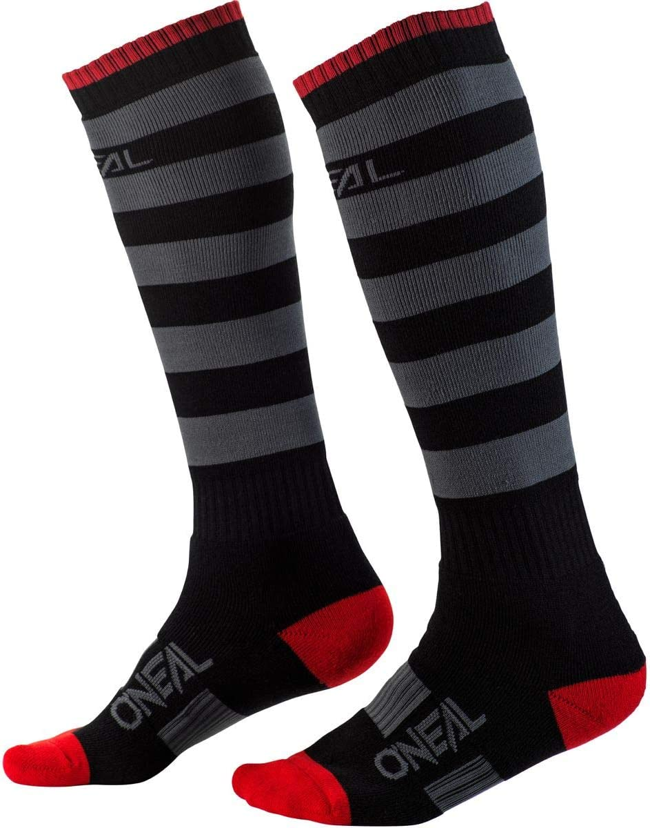 ONeal 0356-755  Pro Mx Mens Motorcycle Socks Black//Gray, One Size