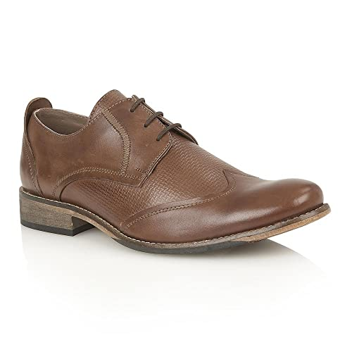 Lotus Kade Mens Derby Brown Brown 8 UK 42 EU