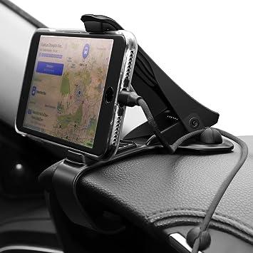 Soporte Movíl SIKIWIND HUD Conduccion Segura Soporte para Móvil Soporte de Coche para Teléfonos Apoyo Hasta