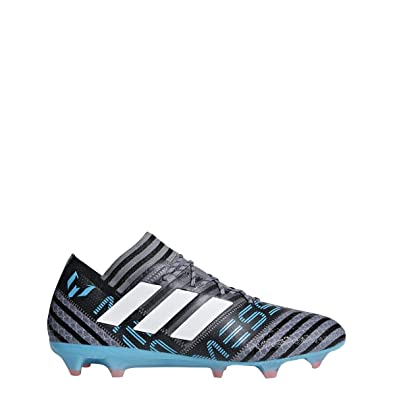 4cd5f3d8c adidas Nemeziz Messi 17.1 FG Cleat Men s Soccer 8.5 Grey-White-Core Black