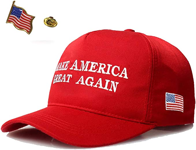 MAKE MISSISSIPPI GREAT AGAIN USA HAT DONALD TRUMP CAP EMBROIDERED OLE MISS RED