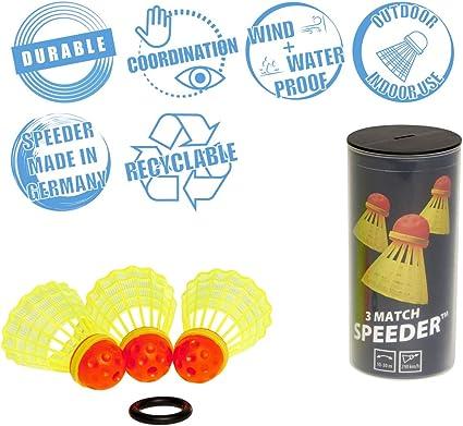 /Feather Shuttlecock Tennis Balls Speedminton/ Speed Mintion/ /Speeder Speedminton Speeder with Model Selection