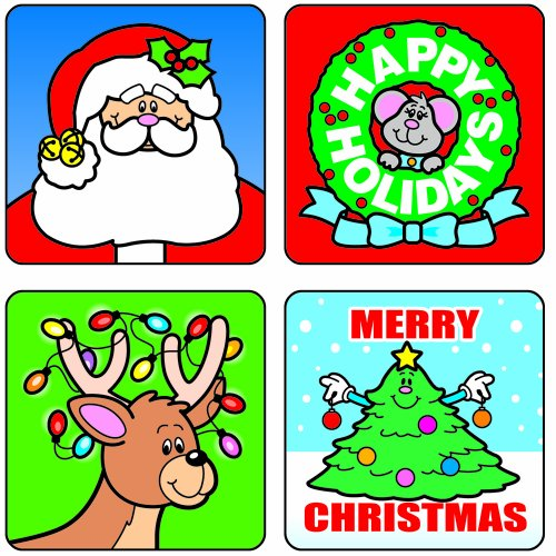 Carson Dellosa Christmas Motivational Stickers (0609)