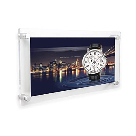 Acrylic collage picture frames 5x7 inch 3 opening for walls clear ...