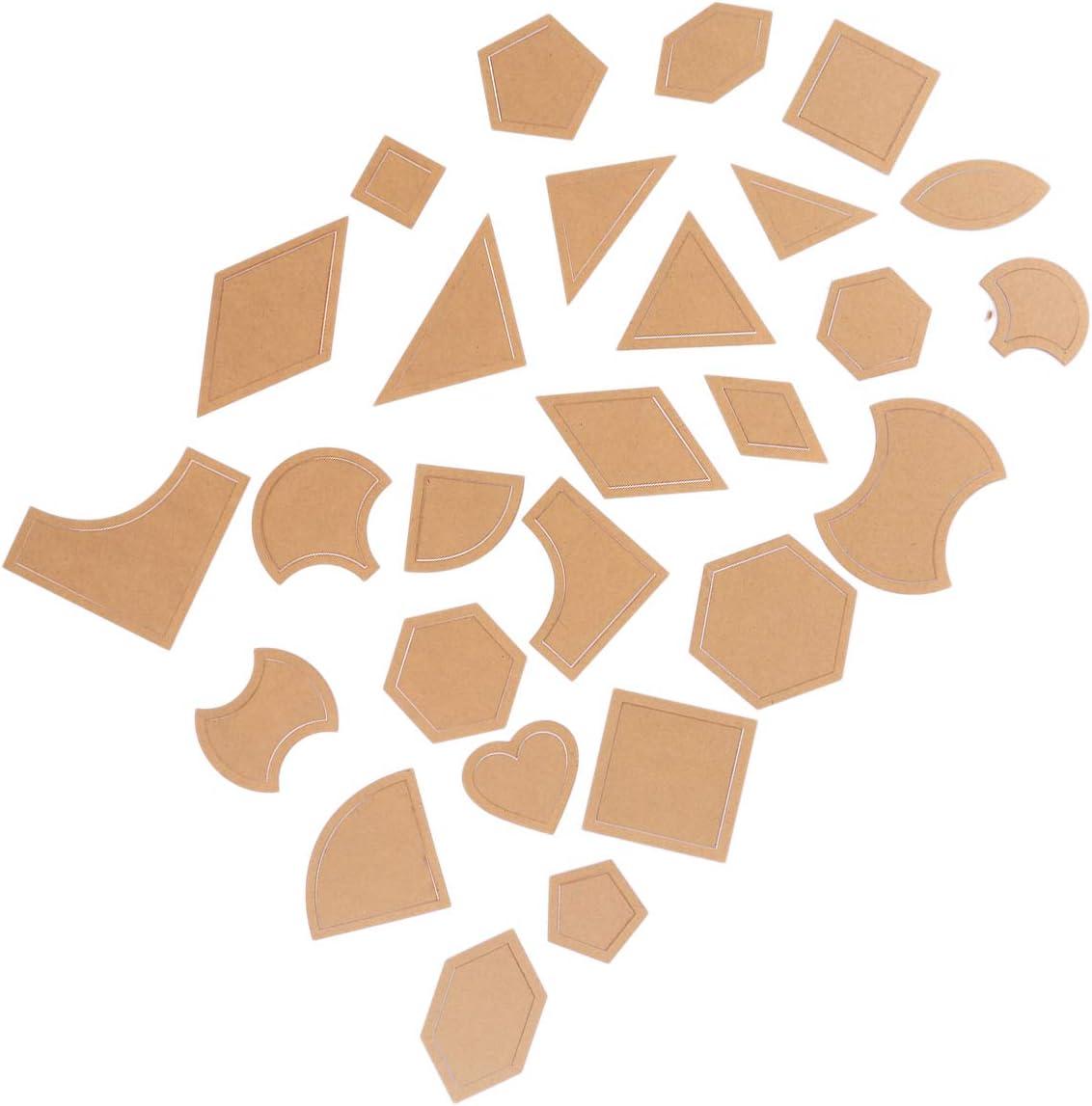 SUPVOX Multi patrón de Acolchado Transparente Plantillas de ...