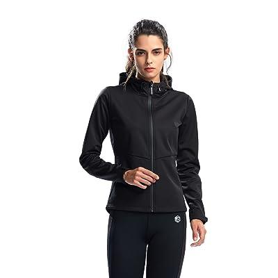 Womens Althetic Active Hoodies SILIK Long Sleeves Zip-Up Pullover Sweatshirt