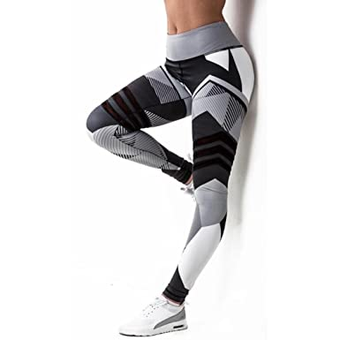 Berühmt LUCKDE Yoga hosen damen, camo jogginghose sport leggings damen #KT_51
