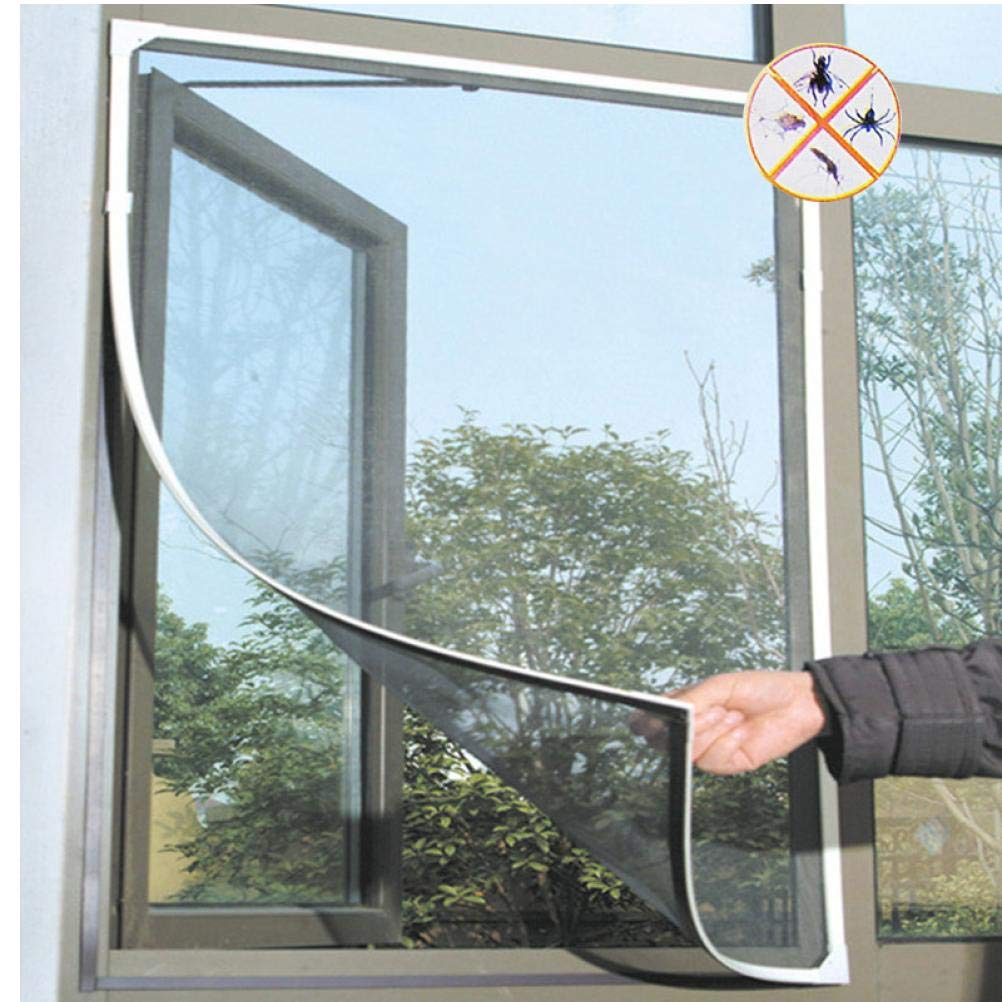 PiniceCore Fly Mosquito Window Net Mesh Screen Room Cortinas Mosquito Curtains Net Curtain Protector Fly Screen Inset