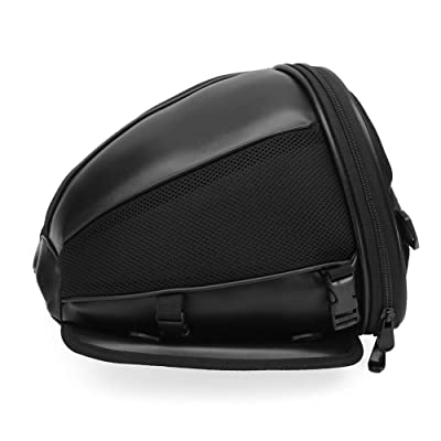 Motorcycle Bike Sports Waterproof Back Seat Carry Bag Luggage Tail Bag Bicycle Motorbike Tail Bag Riding Backpack: Automotive