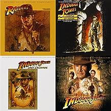 Indiana Jones Quadrilogy - Raiders of the Lost Ark / Temple of Doom / Last Crusade / Kingdom of the Crystal Skull - 4 CD Album Bundling
