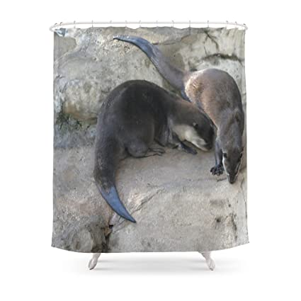 Society6 Otter Shower Curtain 71quot