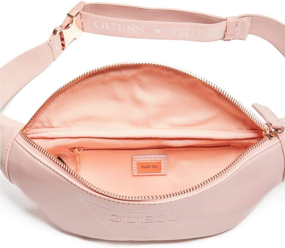 GUESS Factory Womens Gym Embossed Logo Waist Pack