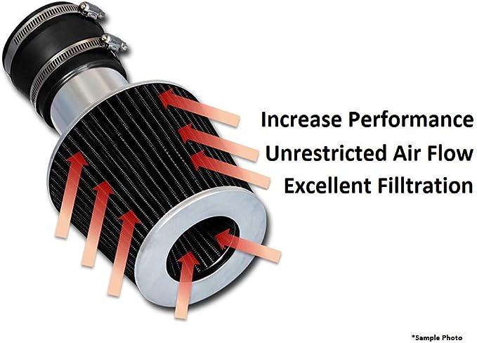RED Short Ram Air Intake Induction Kit Filter For 99-03 Tracker 1.6L//2.0L V6