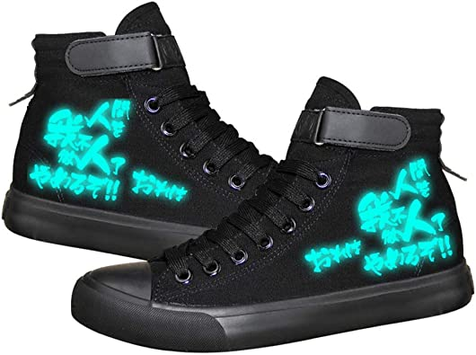 Telacos JoJoJos Bizarre Adventure Anime Dio Brando Cosplay Zapatos de lona para disfraz