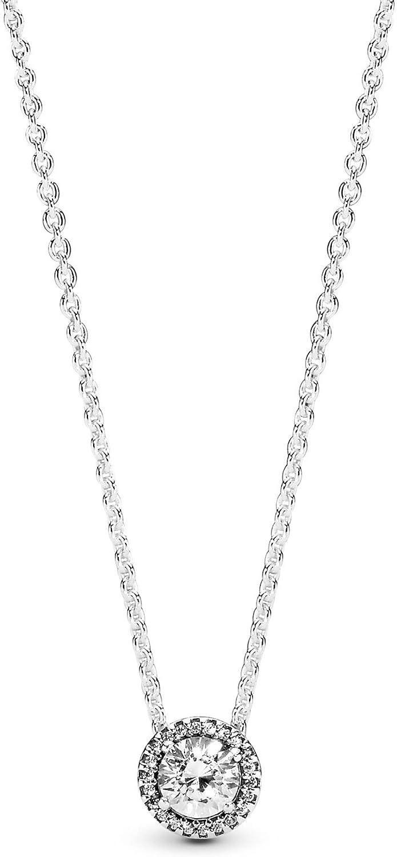 Pandora Collar con colgante Mujer plata - 396240CZ-45
