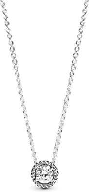 Oferta amazon: Pandora Collar con colgante Mujer plata - 396240CZ-45