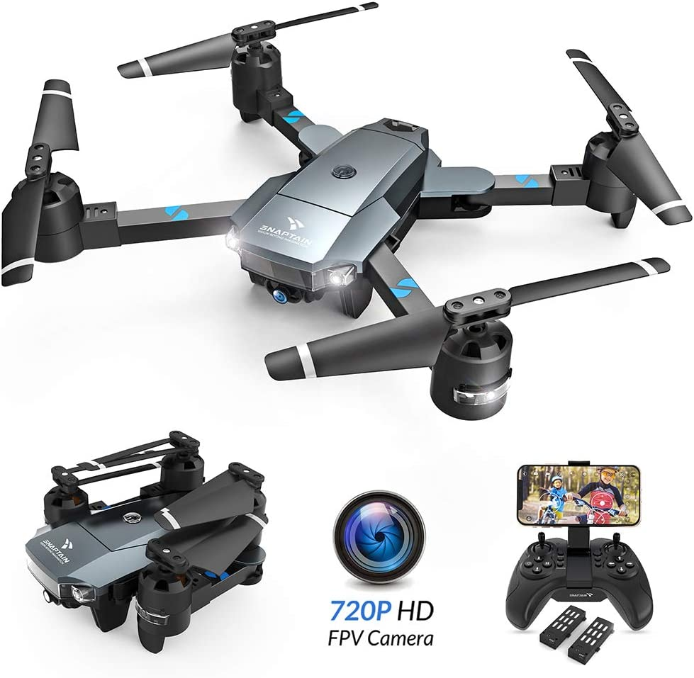 snaptain a15 foldable drone review and key features